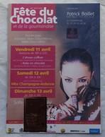 Carte Maximum Card Fête Du Chocolat  AY Marne  51 2014 - Levensmiddelen