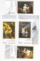 2019 , Moldova , Moldavie , National Museum Of Art, Painting , Set Of 4 V, MNH - Moldova