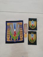 17369  MILITARIA LOT INSIGNES TISSUS ET  REDUCTION DECORATION - Medals