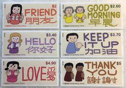 HONG-KONG 1972/77 Ecriture Braille, Cécité - Handicaps