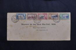 TRINITE ET TOBAGO - Enveloppe FDC En 1938  - L 61784 - Trinidad & Tobago (...-1961)