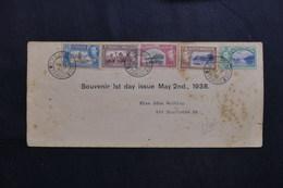 TRINITE ET TOBAGO - Enveloppe FDC En 1938  - L 61786 - Trinidad & Tobago (...-1961)