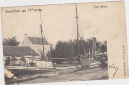 Vilvoorde - Verbrande Brug (Nels, Serie 65 No. 26) (gelopen Kaart Met Zegel) - Vilvoorde