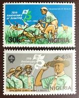 Nigeria 1982 Scouts MNH - Nigeria (1961-...)