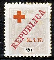 !■■■■■ds■■ Company 1917 AF#109* Red Cross 20 Réis (x0801) - Mozambique