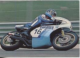 X123952 MOTO PATRICK PONS C. SARRON TEAM GAULOISES GRAND PRIX 1977 TABAC TABACS - Motociclismo