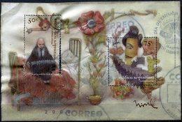 Argentine - 1999 - Yt BF F69 - Nouveau Millénaire - Obl. Mais Froissé - Blocks & Sheetlets