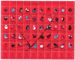 SWEDEN 1964 Christmas Seals Complete Sheet MNH / ** - Sonstige