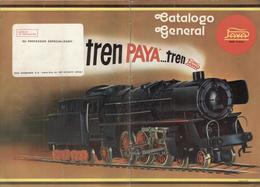 Catalogue PAYA 1977 ...tren Catalogo General HO Made In Spain -en Espagnol - Boeken En Tijdschriften
