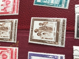 VATICANO I MISSIONARI MARRONE - Stamps