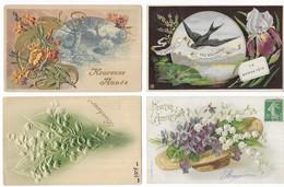Fantaisies Lot De 400 CPA Fantaisies Femmes/Hommes/Enfants/Gauffrées/Fètes... - Cartes Postales