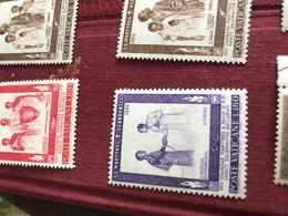 VATICANO I MISSIONARI VIOLA - Stamps