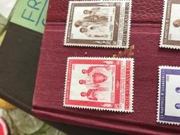 VATICANO I MISSIONARI ROSSO - Stamps
