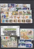 Moldova 2001 - Full Year MNH ** - Moldova