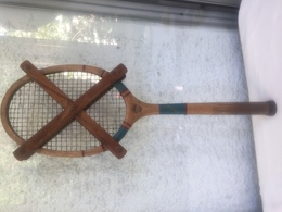 Raquette Tennis Bois Vintage - Thevenon Junior Luxe - Tennis