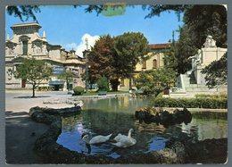 °°° Cartolina - Bergamo Monumento A G. Donizzetti E Chiesa S. Bartolomeo Viaggiata °°° - Bergamo