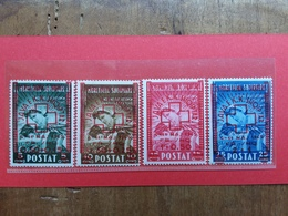 ALBANIA 1945 - Croce Rossa - Nn. 375/78 Nuovi ** + Spese Postali - Albanië