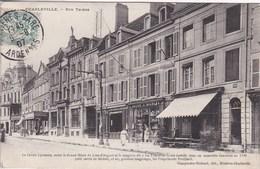08 CHARLEVILLE Rue Thiers ,façade Magasin , Le Crédit Lyonnais Hôtel Du Lion D'argent ,magasin La Tête D'Or - Charleville