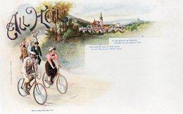 DC2171 - Fahrrad Litho All Heil - Cartoline