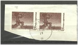 "Sweden 1969 Art:  The Little Shepherd Vill-Vallareman "", By John Bauer (1909)  Mi 660, Cancelled On Paper - Zweden"