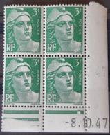 FRANCE / YT 716A - Coin Daté  1947 / GANDON / NEUFS ** / MNH / COTE : 12.00 € - 1940-1949