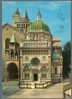 °°° Cartolina - Bergamo S. Maria Maggiore E Cappella Colleoni Viaggiata °°° - Bergamo