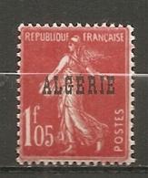 ALG - Yv.  N°  30   ** MNH   1f ,05 Surchargés Cote  2,3 Euro TBE   2 Scans - Algeria (1924-1962)