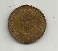 Médaille , République Française , A. THIERS ,président De La République ,  2 Scans - Altri