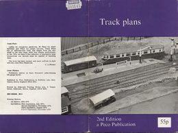 Catalogue PECO 1974 2nd Edition Track Plans - Boeken En Tijdschriften