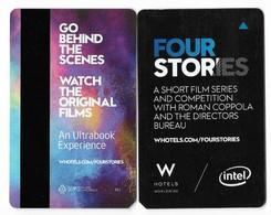 W Hotels, Worldwide, Used Magnetic Hotel Room Key Card #  W-5 - Hotelkarten