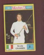 NICOLA GRANIERI....SCHERMA...L'ESCRIME..FENCING..SPADE..SPADA..SPORT - Escrime