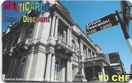 SWISS  PREPAID  MULTICARDS - Telefoonkaarten