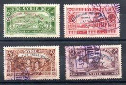 Syrie  Syrien Y&T 192*, 194°, 195°, 197° - Syrien (1919-1945)