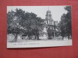Rotograph Childrens Home Chambersburg   Pennsylvania >     Ref 4111 - Stati Uniti