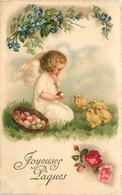 ANGELOT  - Joyeuse Pâques (carte Vendue En L'état). - Engelen