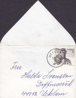 Sweden 70 X 102 Mm Deluxe UCKLUM 1969 'Petite' Cover Brief Daffinseröd UCKLUM Albert Engström Owl Uhle Eule - Zweden