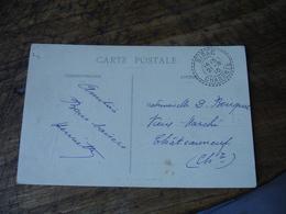 Birac  Facteur Boitier Cachet Perle Obliteration Lettre - Postmark Collection (Covers)
