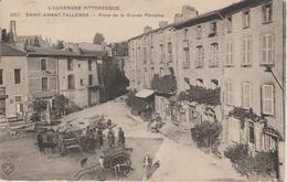 L' AUVERGNE PITTORESQUE      ST-AMANT-TALLENDE                             PLACE DE LA GRANDE FONTAINE - Other Municipalities