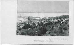 Auguste Béchaud (attribué à ) - Congo Français - Un Village - - Congo Français - Autres