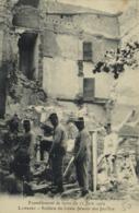 Tremblement De Terre Du 11Juin 1909 LAMBESC  Soldats Du Génie Faisant Des Fouilles RV - Lambesc