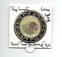 SOMALIE REPUBLIEK DOLLAR 2005 MULTICOLOUR PAUS BENEDICTUS - Somalia