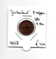 ZWITSERLAND 2 RAPPEN 1937B - Schweiz