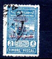 Syrie Timbres Fiscaux Syrien Fiskalmarken Y&T 295° - Syria (1919-1945)