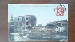 CARTE POSTALE ANCIENNE - GIRONDE 33 - PODENSAC - RUINE DE L'ANCIEN CHATEAU - Other Municipalities
