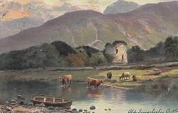Old Inverlochy Castle , West Highlands , Glen Nevis , Scotland , 1905 ; TUCK 6200 - Autres