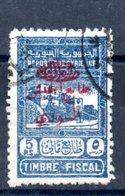 Syrie Timbres Fiscaux Syrien Fiskalmarken Y&T 296a° - Syria (1919-1945)