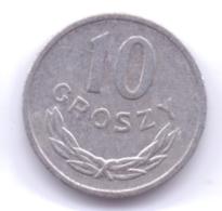 POLSKA 1979: 10 Groszy, Y# AA47 - Polonia