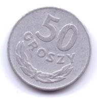 POLSKA 1978: 50 Groszy, Y# 48.1 - Polonia