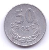 POLSKA 1977: 50 Groszy, Y# 48.1 - Polonia