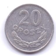 POLSKA 1966: 20 Groszy, Y# A47 - Polonia